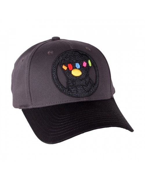 OFFICIAL MARVEL COMICS - AVENGERS: INFINITY WAR - GAUNTLET STRAPBACK CAP