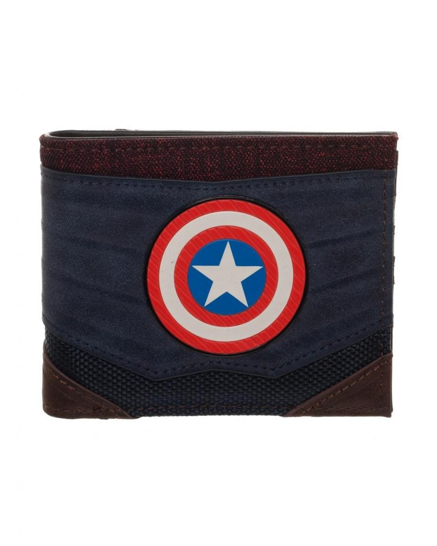 MARVEL COMICS - CAPTAIN AMERICA SYMBOL SUIT UP WALLET