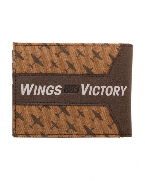 CALL OF DUTY: WWII - STAR SYMBOL 'WINGS FOR VICTORY' WALLET