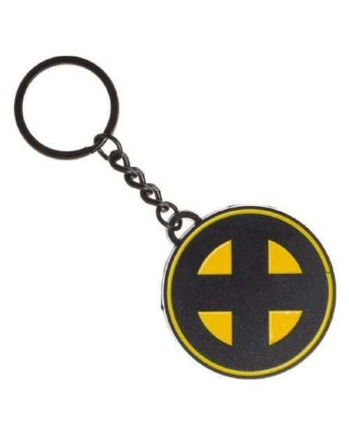 MARVEL COMICS - X-MEN ROUND SYMBOL METAL KEYRING