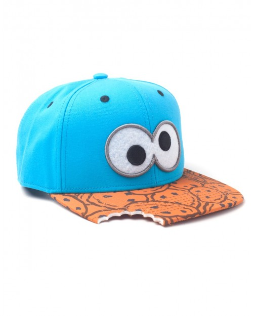 SESAME STREET - COOKIE MONSTER EYES - COOKIES BITE SNAPBACK CAP