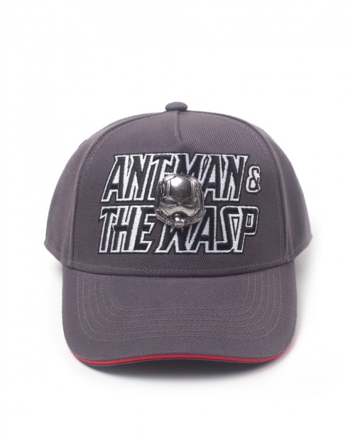 MARVEL'S ANT-MAN AND THE WASP METAL SYMBOL BASEBALL SNAPBACK CAP