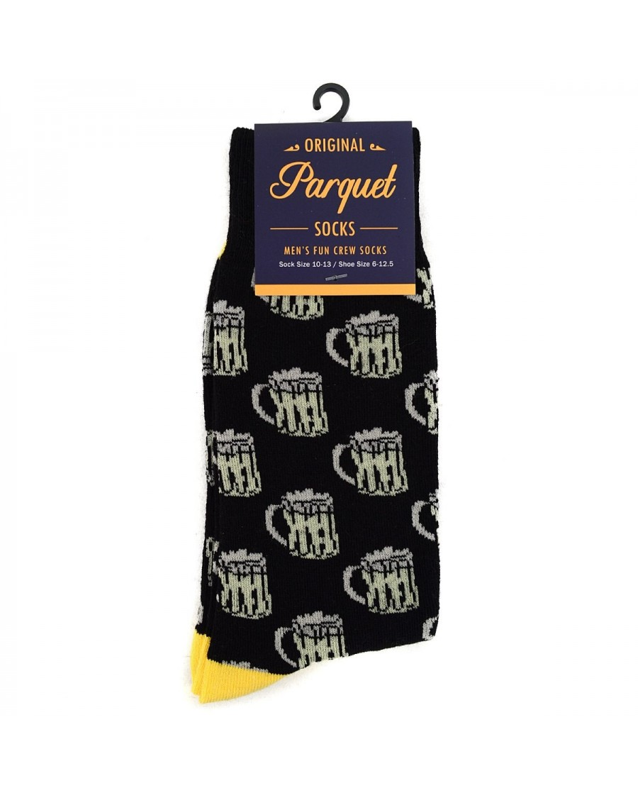 BEER ALL OVER STYLE PAIR OF NOVELTY SOCKS