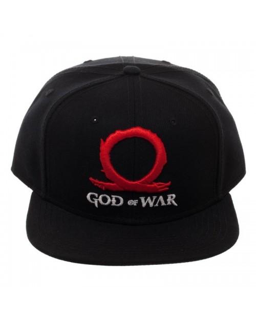 GOD OF WAR - LOGO BLACK SNAPBACK CAP
