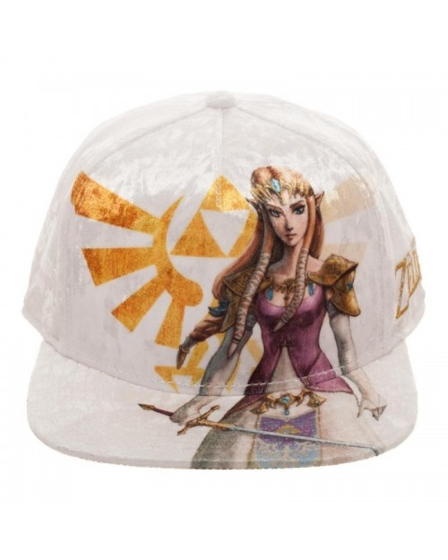 THE LEGEND OF ZELDA - TWILIGHT PRINCESS - ZELDA VELVET SNAPBACK CAP