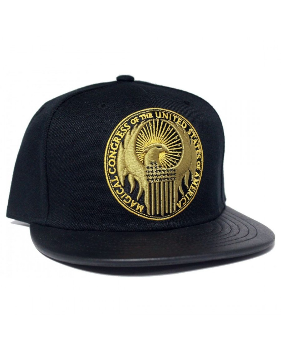 FANTASTIC BEASTS AND WHERE TO FIND THEM: MACUSA SYMBOL SNAPBACK CAP