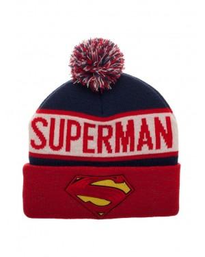 OFFICIAL DC COMICS - SUPERMAN SYMBOL COLLAGE CUFF BEANIE