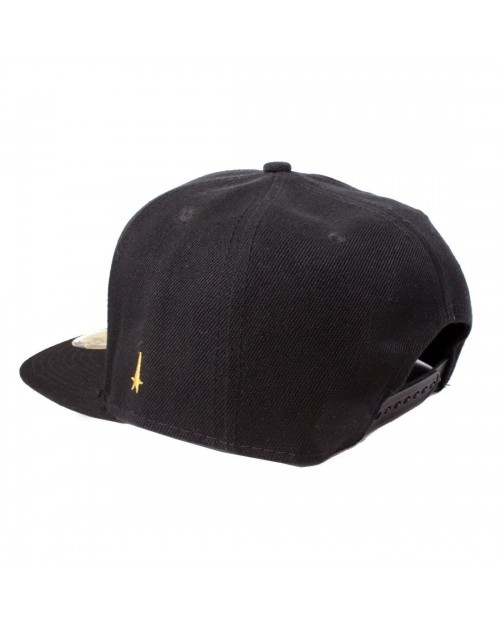 OFFICIAL STAR TREK TEXT LOGO BLACK SNAPBACK CAP