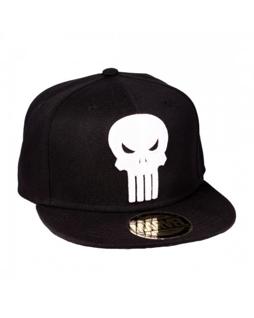 cheaper c808a 500d5 ... buy official marvel comics the punisher skull black snapback cap 22004  ab833