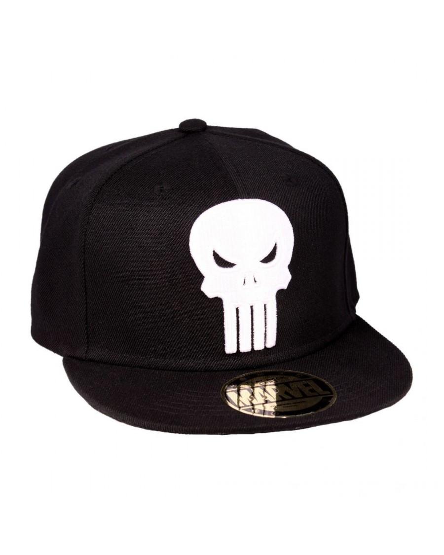 29db67e6 OFFICIAL MARVEL COMICS - THE PUNISHER SKULL BLACK SNAPBACK CAP ...