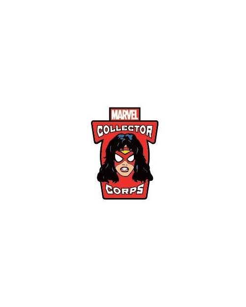 OFFICIAL MARVEL COMICS - SPIDER-WOMAN POP! COLLECTOR CORPS PIN BADGE