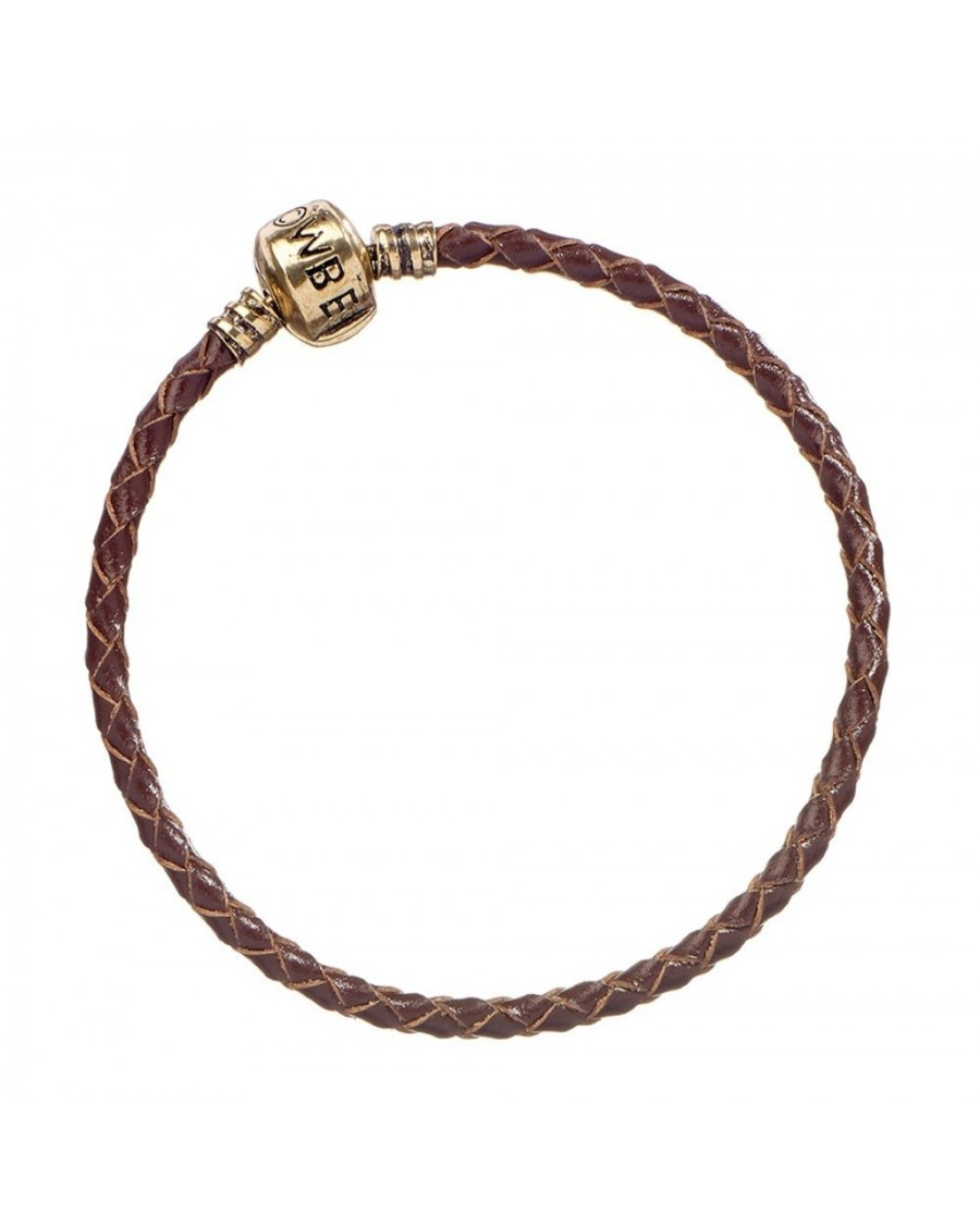 OFFICIAL FANTASTIC BEASTS BROWN CHARM BRACELET FOR CHARMS