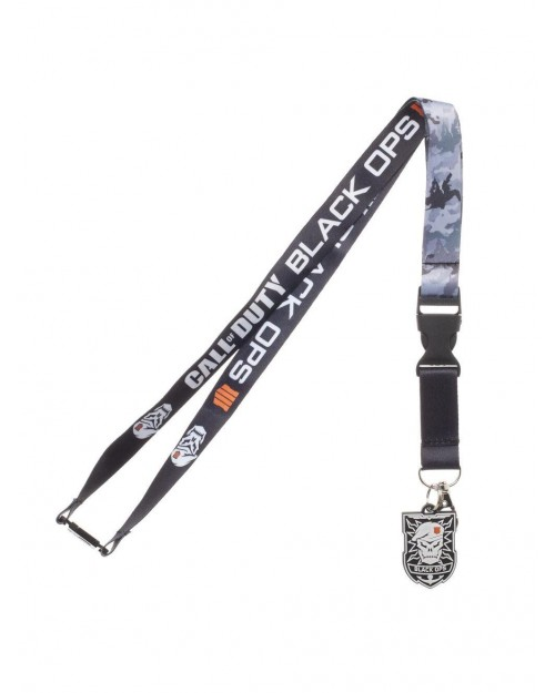 OFFICIAL CALL OF DUTY BLACK OPS IIII (4) PRINTED LANYARD