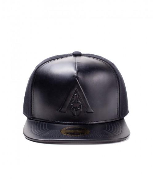 OFFICIAL ASSASSIN'S CREED ODYSSEY - DEBOSSED SYMBOL BLACK SNAPBACK CAP