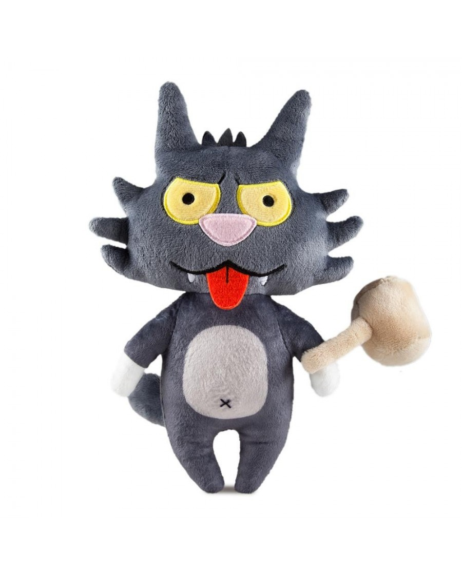 THE SIMPSONS TREEHOUSE OF HORROR - SCRATCHY PHUNNY PLUSH CUDDLY TOY BY KIDROBOT