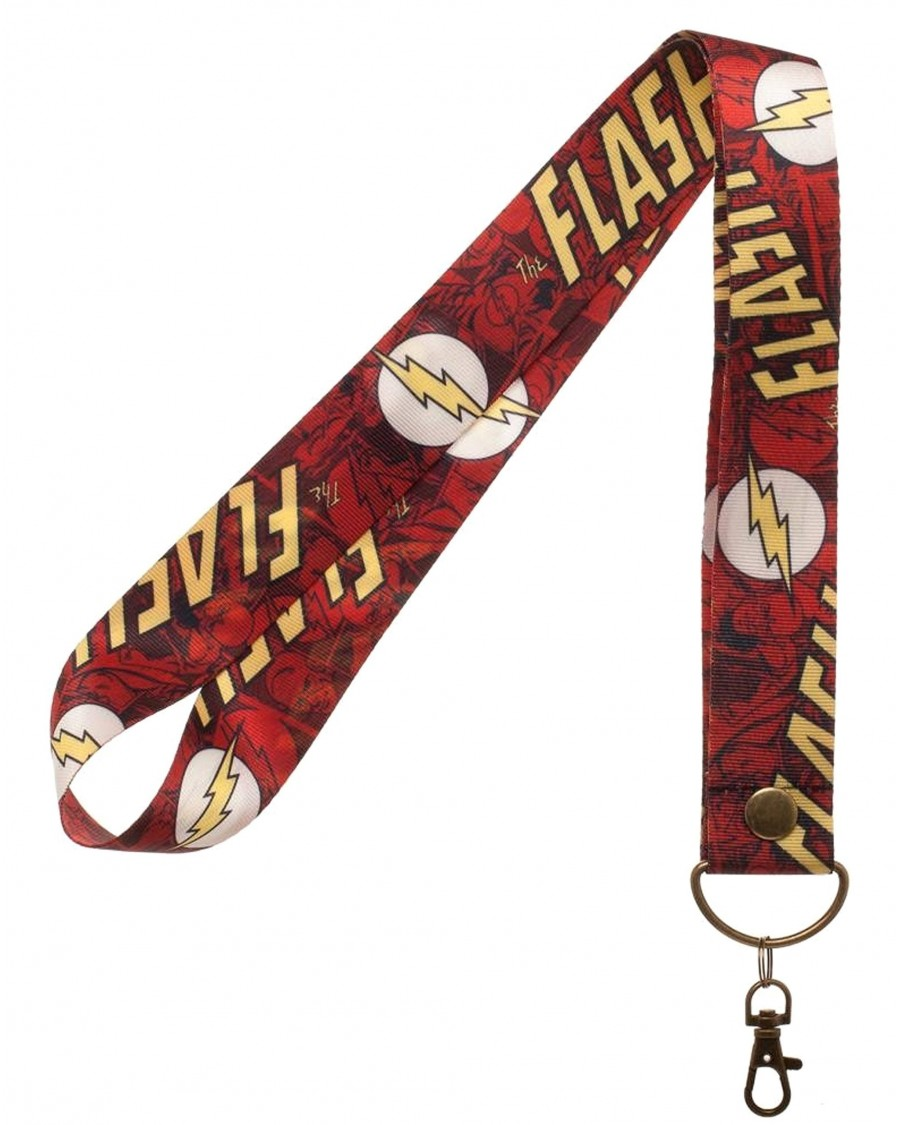 OFFICIAL DC COMICS THE FLASH ALL OVER PRINT LANYARD