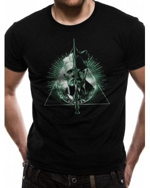 FANTASTIC BEASTS - CRIMES OF GRINDELWALD VS DUMBLEDORE BLACK T-SHIRT