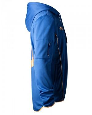 OFFICIAL BETHESDA - FALLOUT 76 VAULT-TEC VAULT 76 BLUE ZIP HOODIE JUMPER