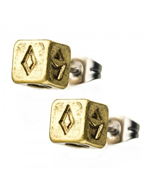 STAR WARS - HAN SOLO LUKCY DICE STUD EARRINGS