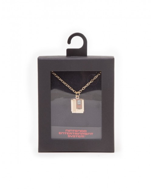 OFFICIAL NINTENDO THE LEGEND OF ZELDA CARTRIDGE PENDANT ON CHAIN NECKLACE