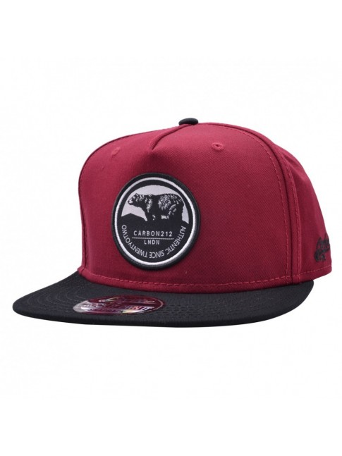 CARBON 212 BEAR AUTHENTIC PATCH SNAPBACK CAP