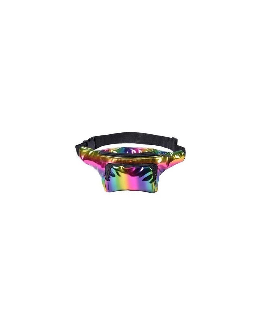 RAINBOW HOLOGRAPHIC BUM BAG (FANNY PACK)