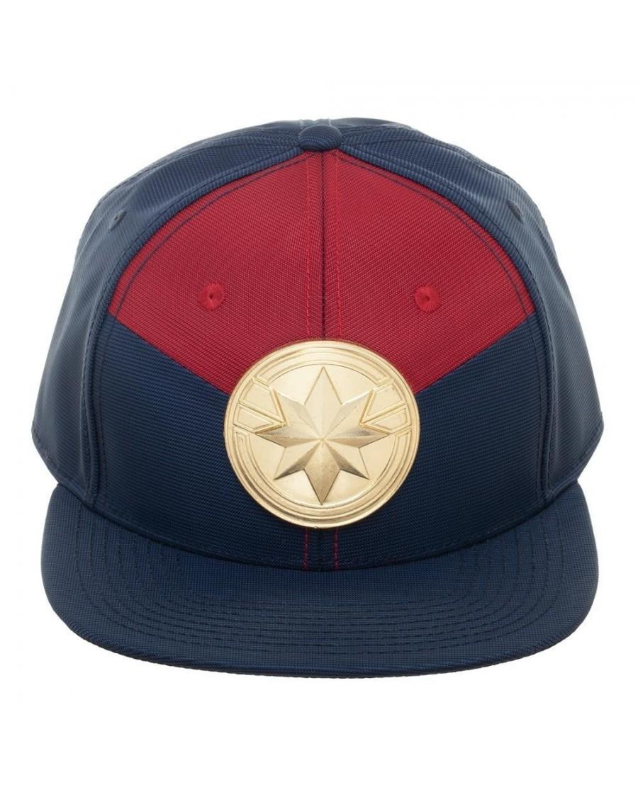 MARVEL COMICS - CAPTAIN MARVEL CREST SNAPBACK CAP