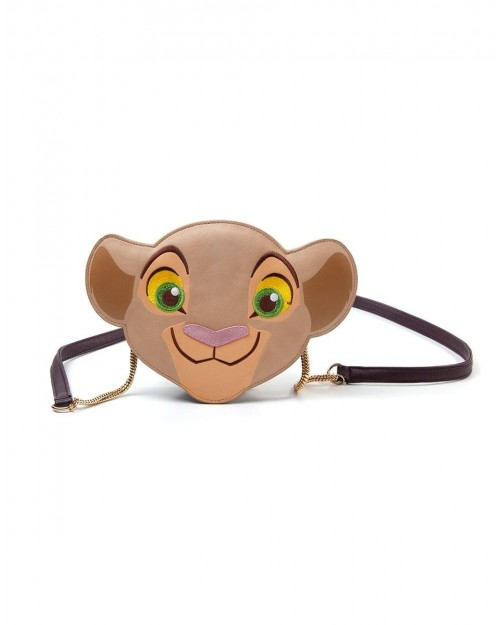 OFFICIAL DISNEY THE LION KING - NALA FACE MINI SHOULDER BAG