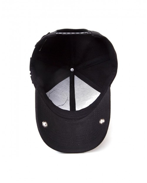 MARVEL COMICS VENOM LOGO BASEBALL CAP WITH PRINTED VISOR OFFICIAL