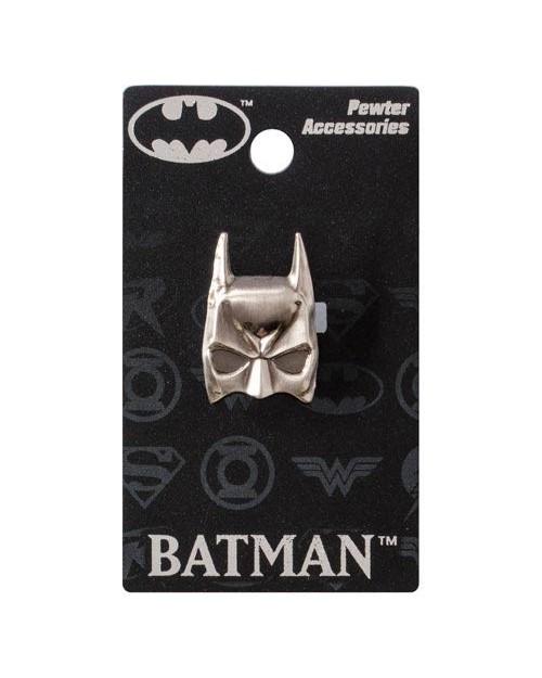 OFFICIAL DC COMICS - BATMAN COWL PEWTER LAPEL BADGE