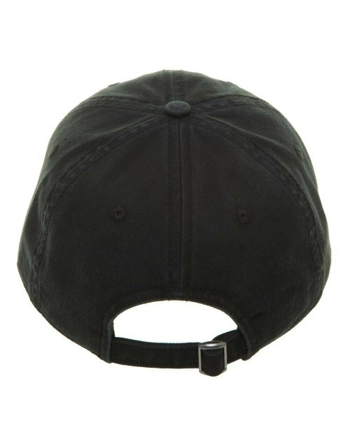 MARVEL COMICS - BLACK WIDOW TEXT AND SYMBOL STRAPBACK BASEBALL CAP