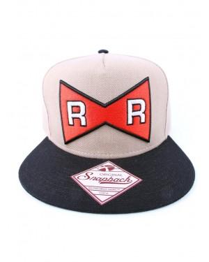 OFFICIAL DRAGON BALL Z - RED RIBBON ARMY SYMBOL BROWN SNAPBACK CAP