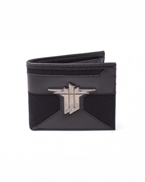 OFFICIAL WOLFENSTEIN II (2) THE NEW COLOSSUS LOGO BI-FOLD WALLET