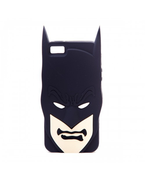 BATMAN CLOSE UP FACE RUBBER IPHONE 5 CASE
