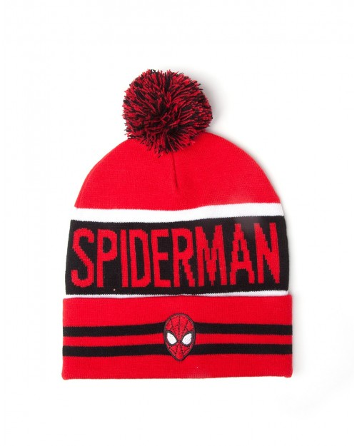 OFFICIAL MARVEL COMICS: SPIDER-MAN MASK POM BEANIE