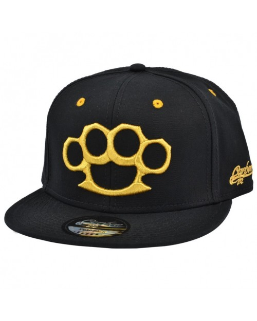 CARBON 212 KNUCKLE DUSTER BLACK SNAPBACK CAP