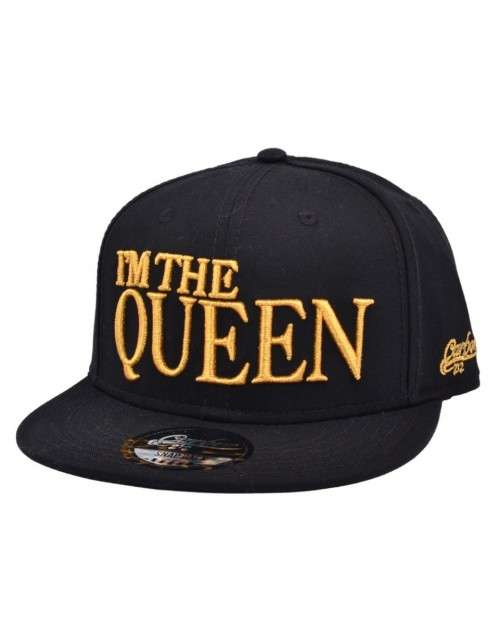 CARBON 212 I'M THE QUEEN BLACK SNAPBACK CAP