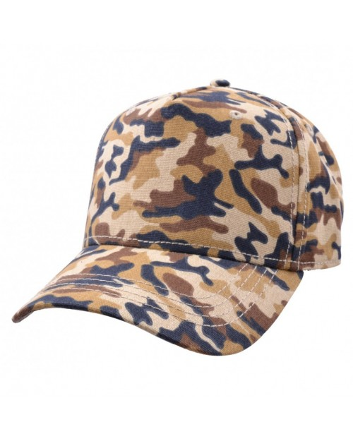 CARBON 212 - LIGHT BROWN CAMOUGLAGE CURVED BASEBALL CAP