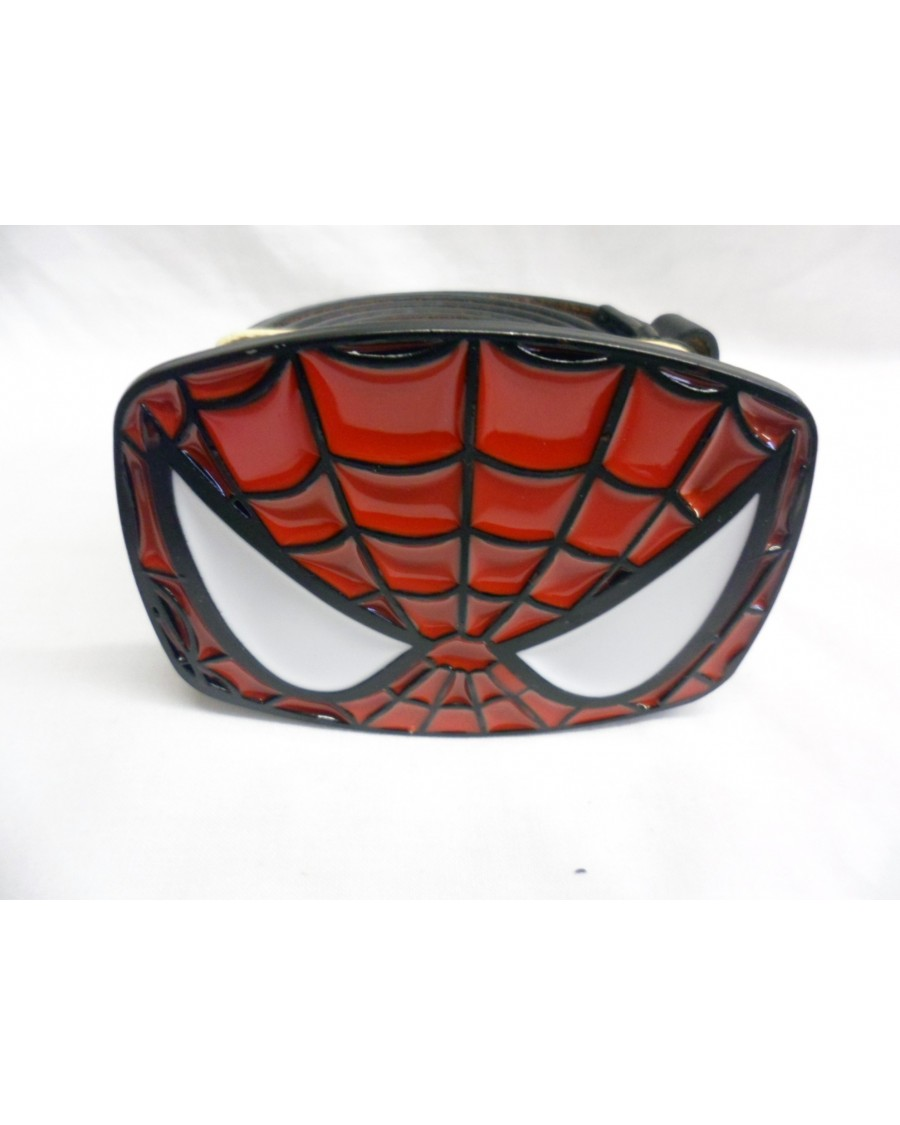 THE AMAZING SPIDERMAN MASK BUCKLE with BELT
