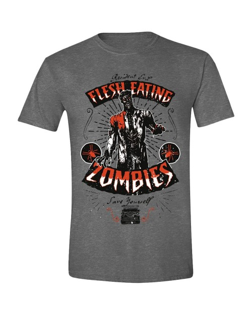 OFFICIAL RESIDENT EVIL FLESH EATING ZOMBIES HEATHER T-SHIRT