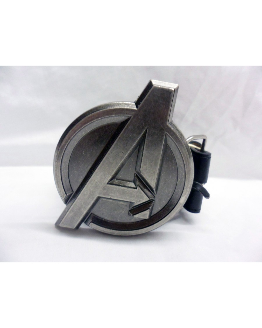 MARVEL AVENGERS ASSEMBLE 'A' BUCKLE with BELT