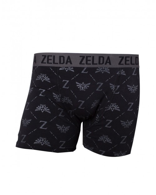 OFFICIAL THE LEGEND OF ZELDA - TRIFORCE SYMBOLS MENS BOXERS (UNDERWEAR)
