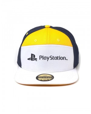 OFFICIAL SONY - PLAYSTATION CLASSIC LOGO 7 PANEL STRAPBACK BASEBALL CAP