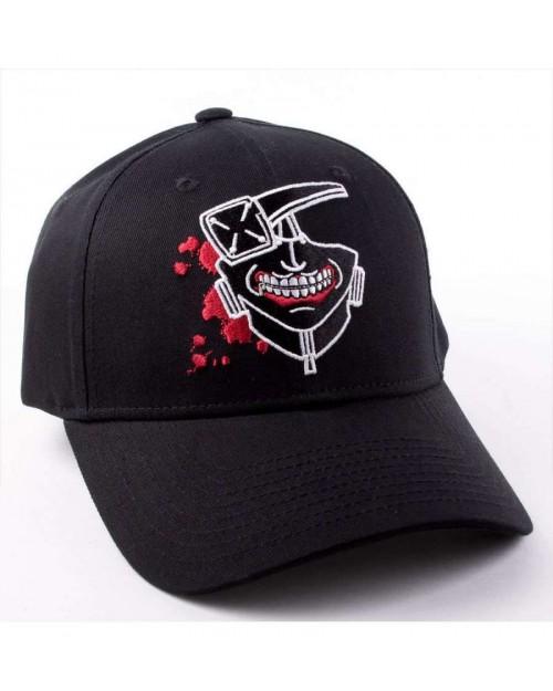 OFFICIAL TOKYO GHOUL - KANEKI MASK BLACK SNAPBACK CAP