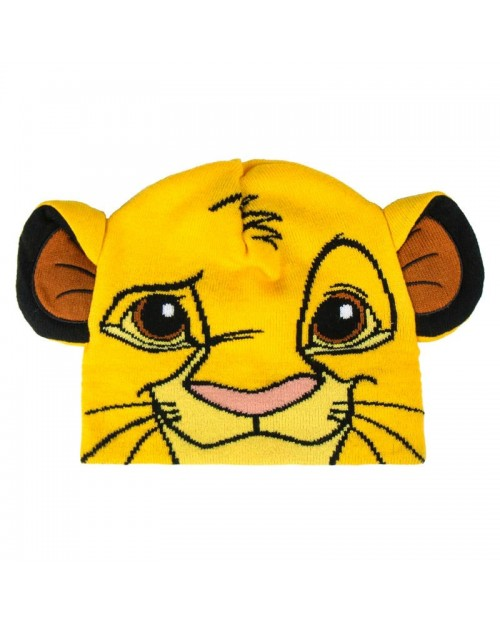OFFICIAL DISNEY THE LION KING SIMBA FACE BEANIE HAT