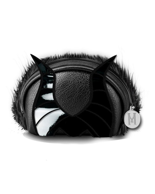 OFFICIAL DISNEY VILLAINS - MALEFICENT HORNS BLACK ZIP COIN PURSE