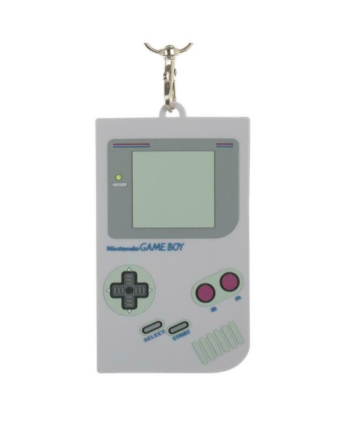NINTENDO GAME BOY TILED PRINT 3D HOLDER PRINTED LANYARD