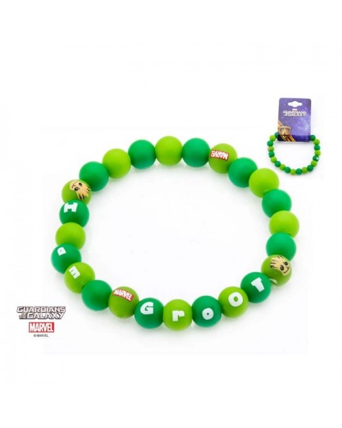 MARVEL COMICS - GUARDIANS OF THE GALAXY GROOT GREEN BRACELET