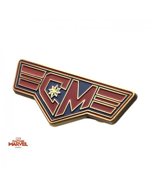 MARVEL COMICS CAPTAIN MARVEL METAL PIN BADGE