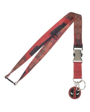 MARVEL COMICS - DEADPOOL SUIT UP LANYARD